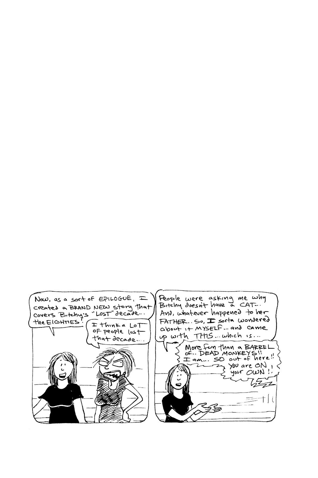 Read online Life's a Bitch: The Complete Bitchy Bitch Stories comic -  Issue # TPB (Part 3) - 52