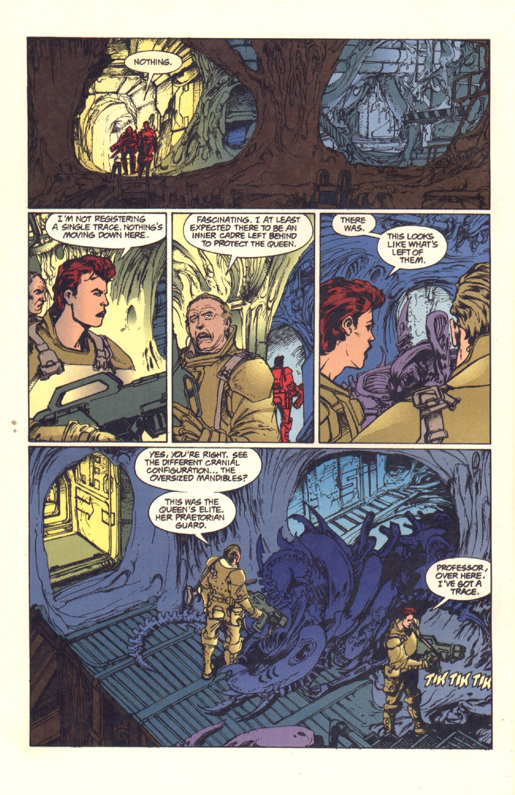 Read online Aliens: Rogue comic -  Issue #4 - 8