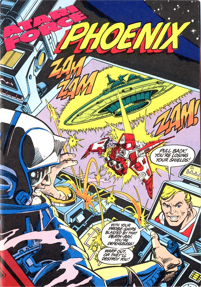 Read online Atari Force (1982) comic -  Issue #4 - 3