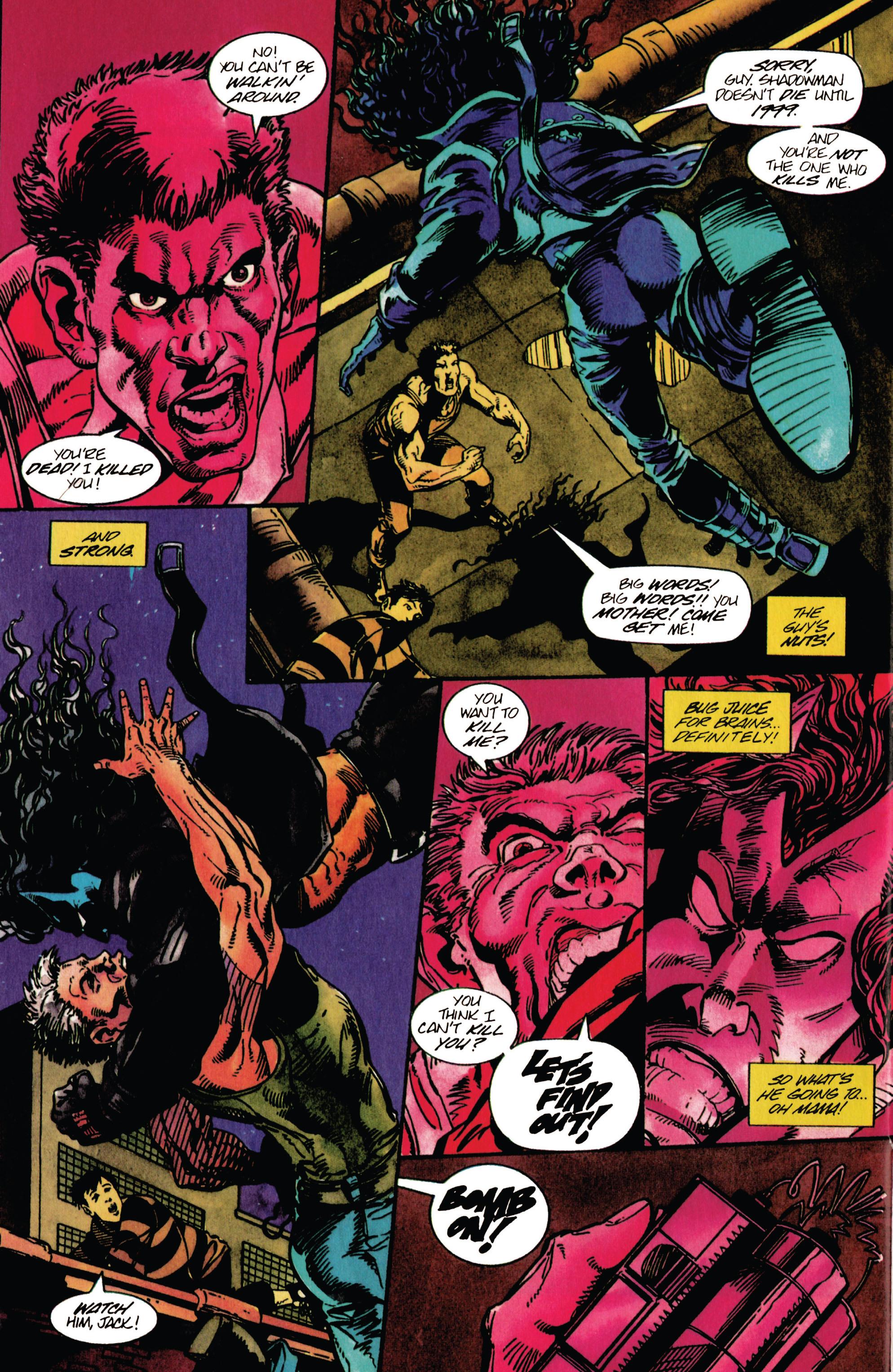 Read online Shadowman (1992) comic -  Issue #30 - 19