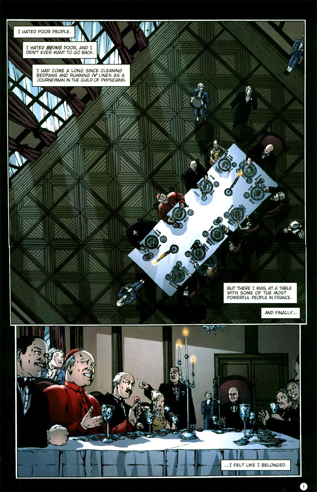 Read online Rex Mundi comic -  Issue #5 - 3