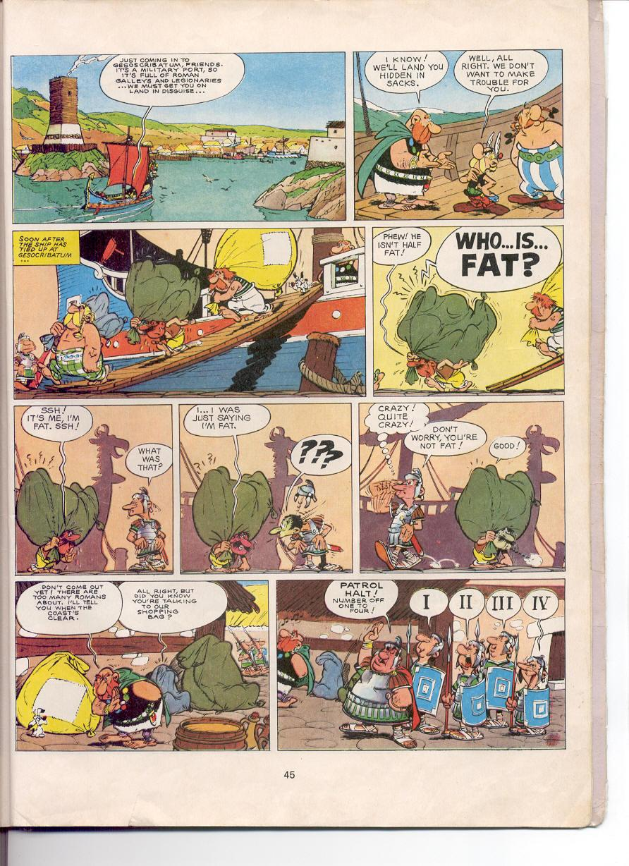 Asterix issue 5 - Page 42