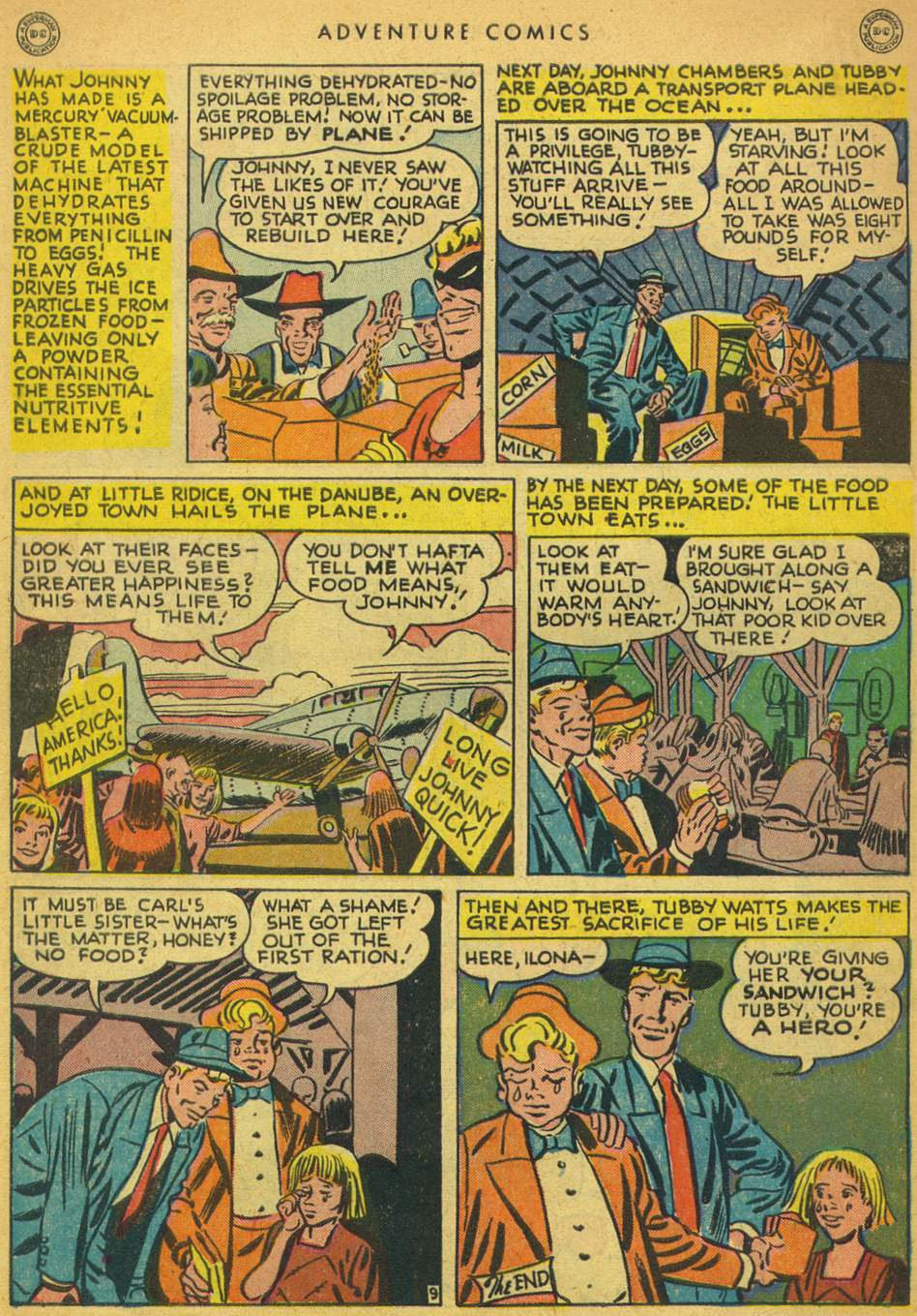 Read online Adventure Comics (1938) comic -  Issue #128 - 46