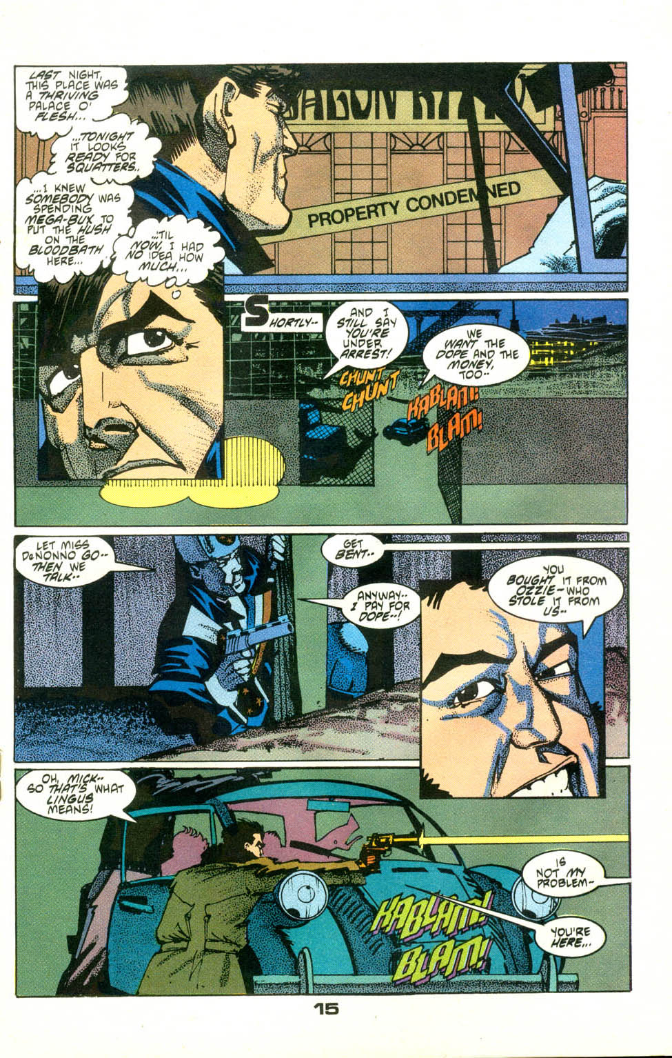 Read online American Flagg! comic -  Issue #24 - 17
