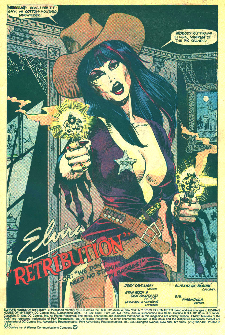Elvira's House of Mystery Issue #3 #4 - English 3