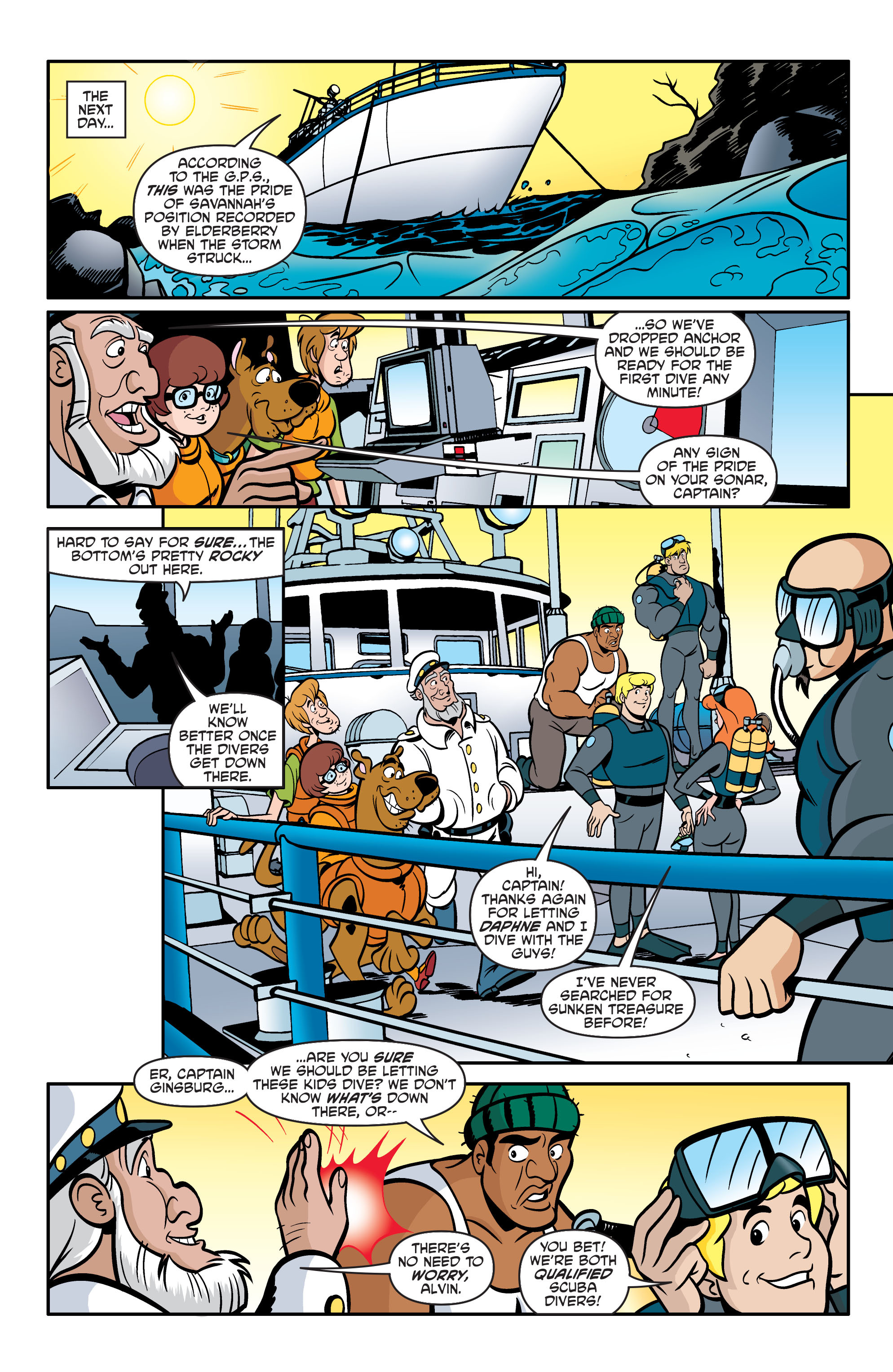 Read online Scooby-Doo: Where Are You? comic -  Issue #60 - 17