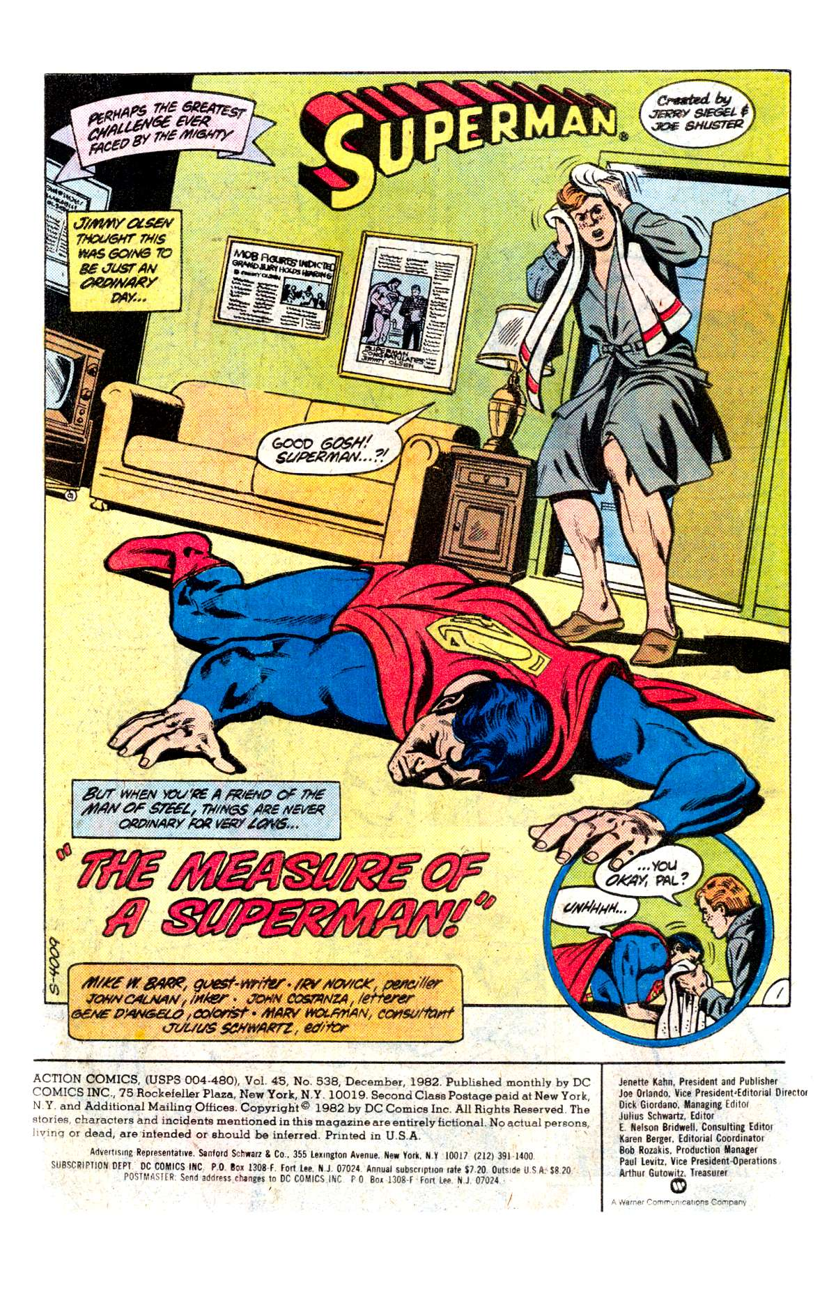 Read online Action Comics (1938) comic -  Issue #538 - 2