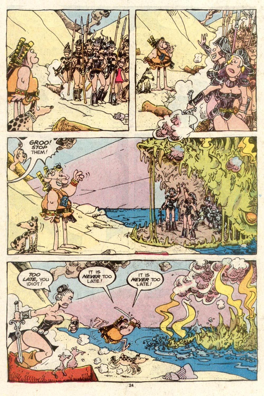 Read online Sergio Aragonés Groo the Wanderer comic -  Issue #50 - 24