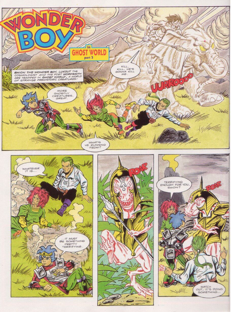 Read online Sonic the Comic comic -  Issue #24 - 26