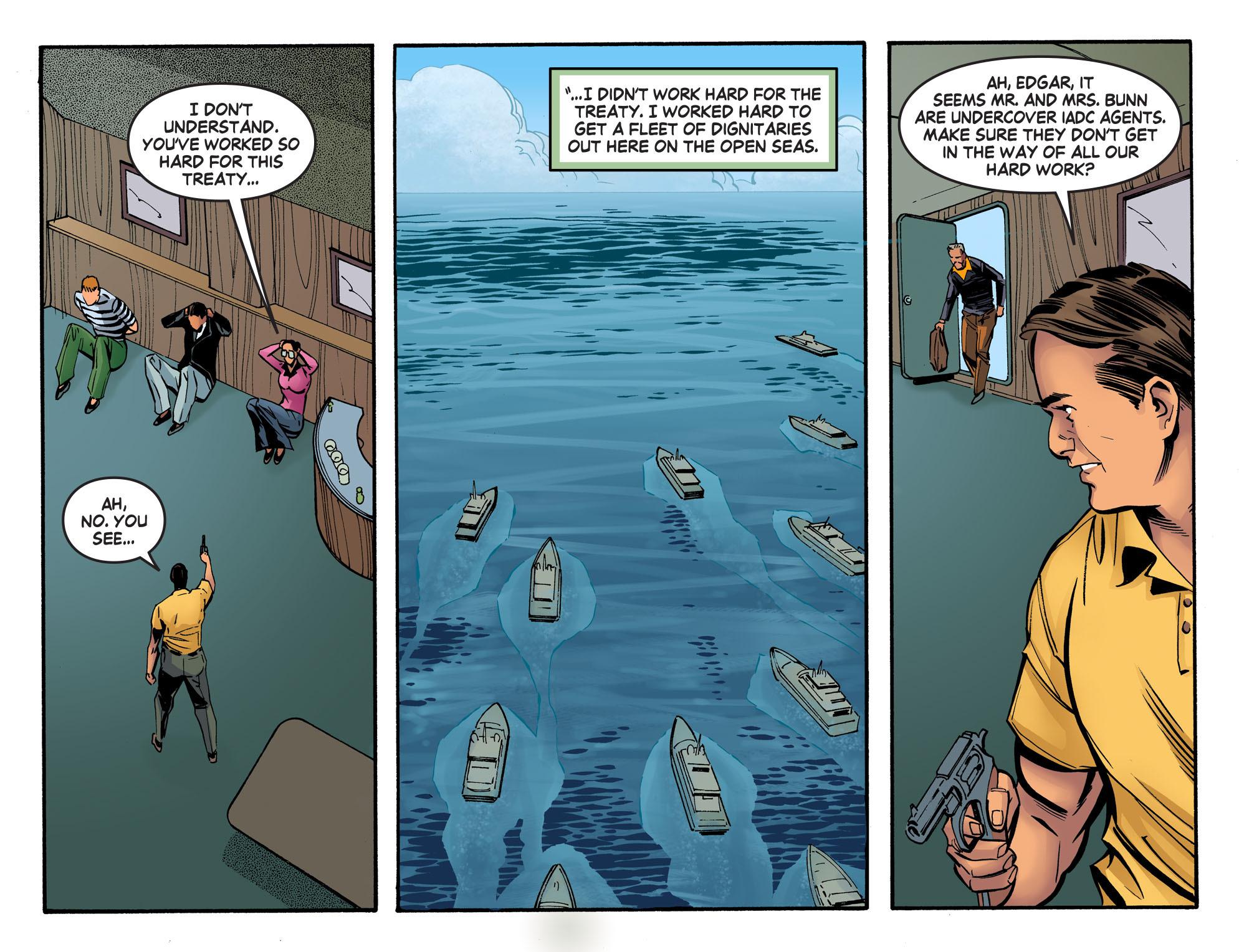 Read online Wonder Woman '77 [I] comic -  Issue #19 - 19