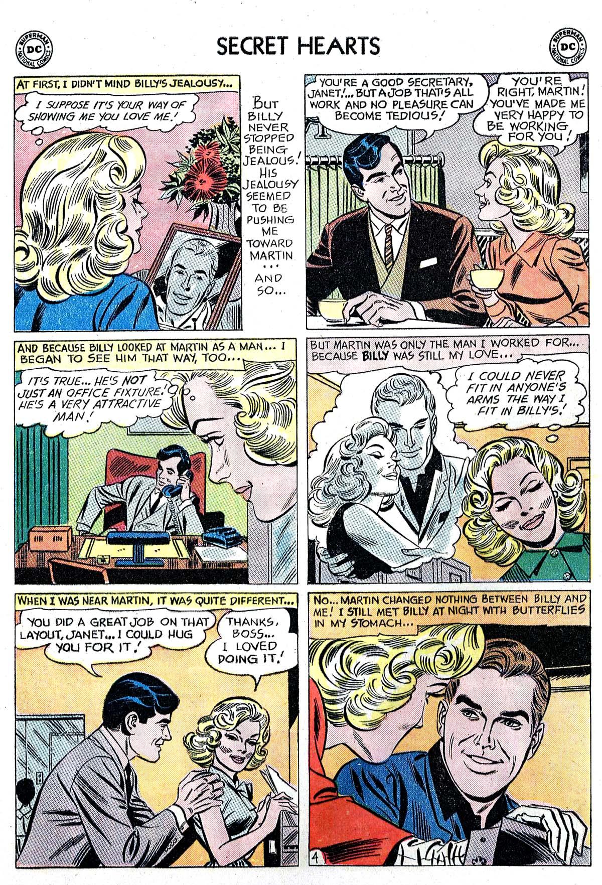 Read online Secret Hearts comic -  Issue #82 - 13