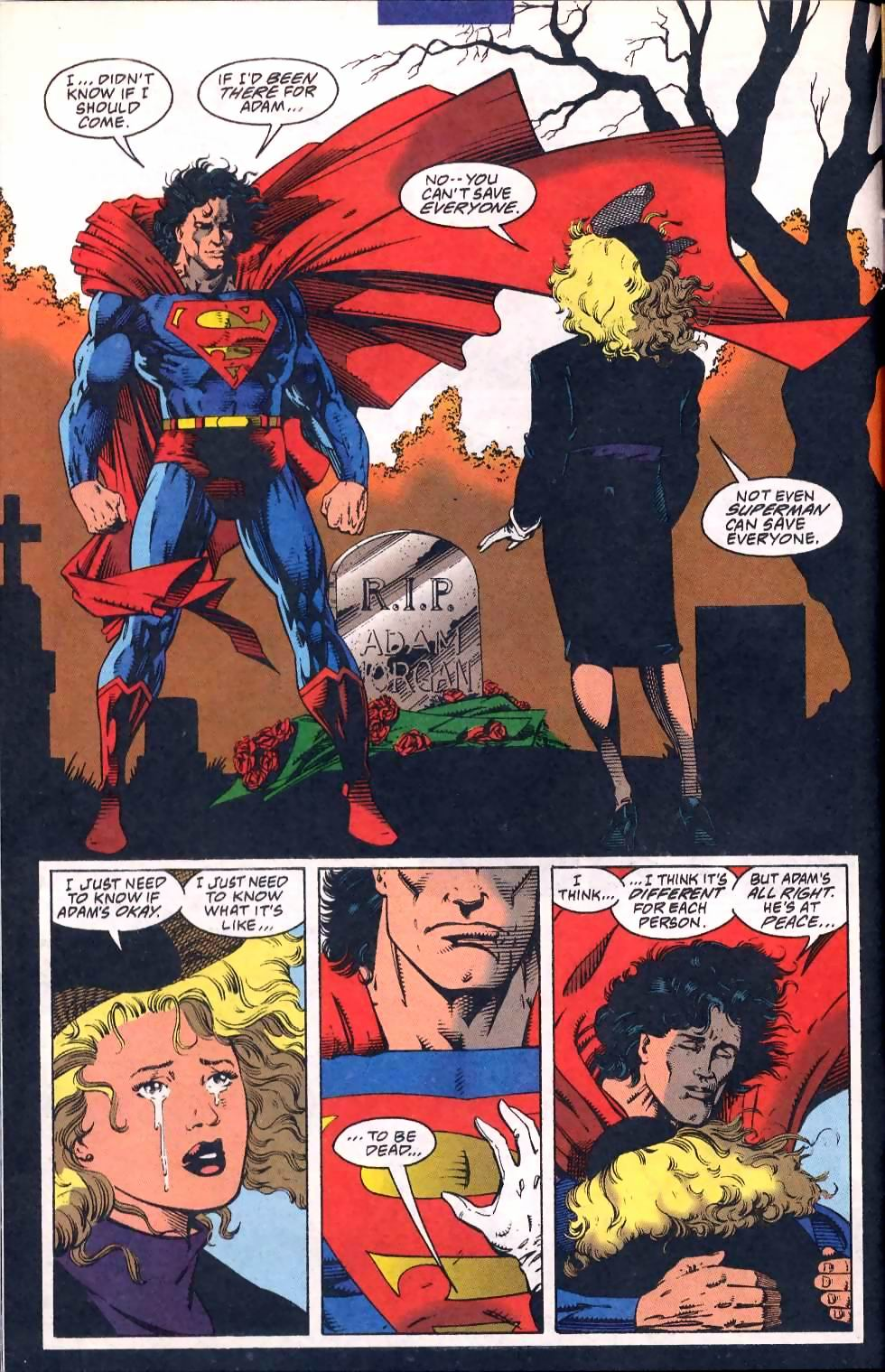 Read online Adventures of Superman (1987) comic -  Issue #508 - 10