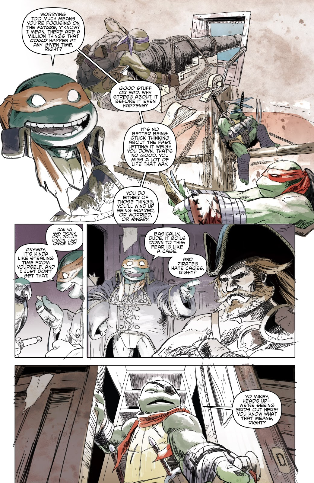 Read online Teenage Mutant Ninja Turtles: The IDW Collection comic -  Issue # TPB 5 (Part 1) - 63