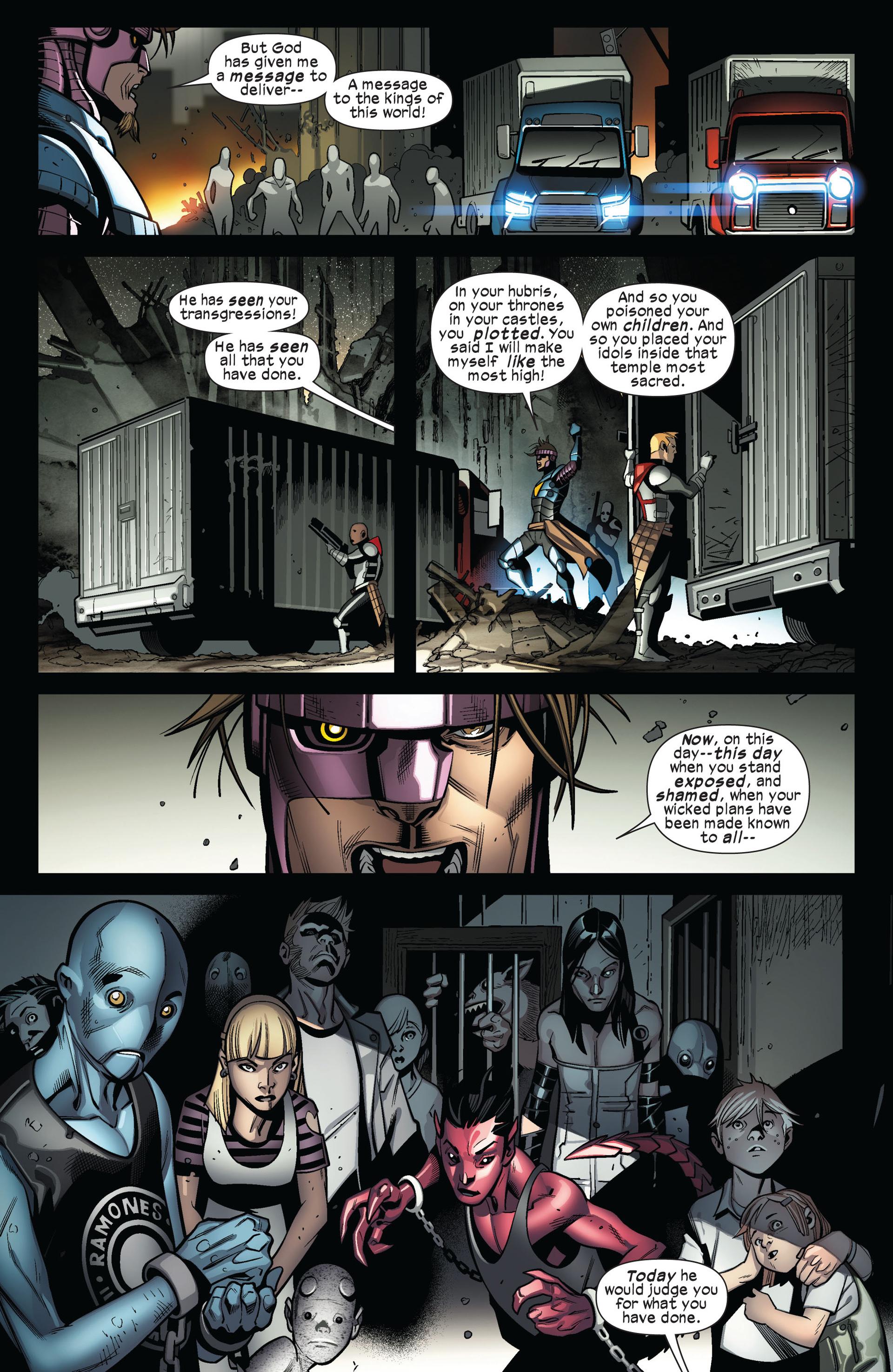 Read online Ultimate Comics X-Men comic -  Issue #4 - 14