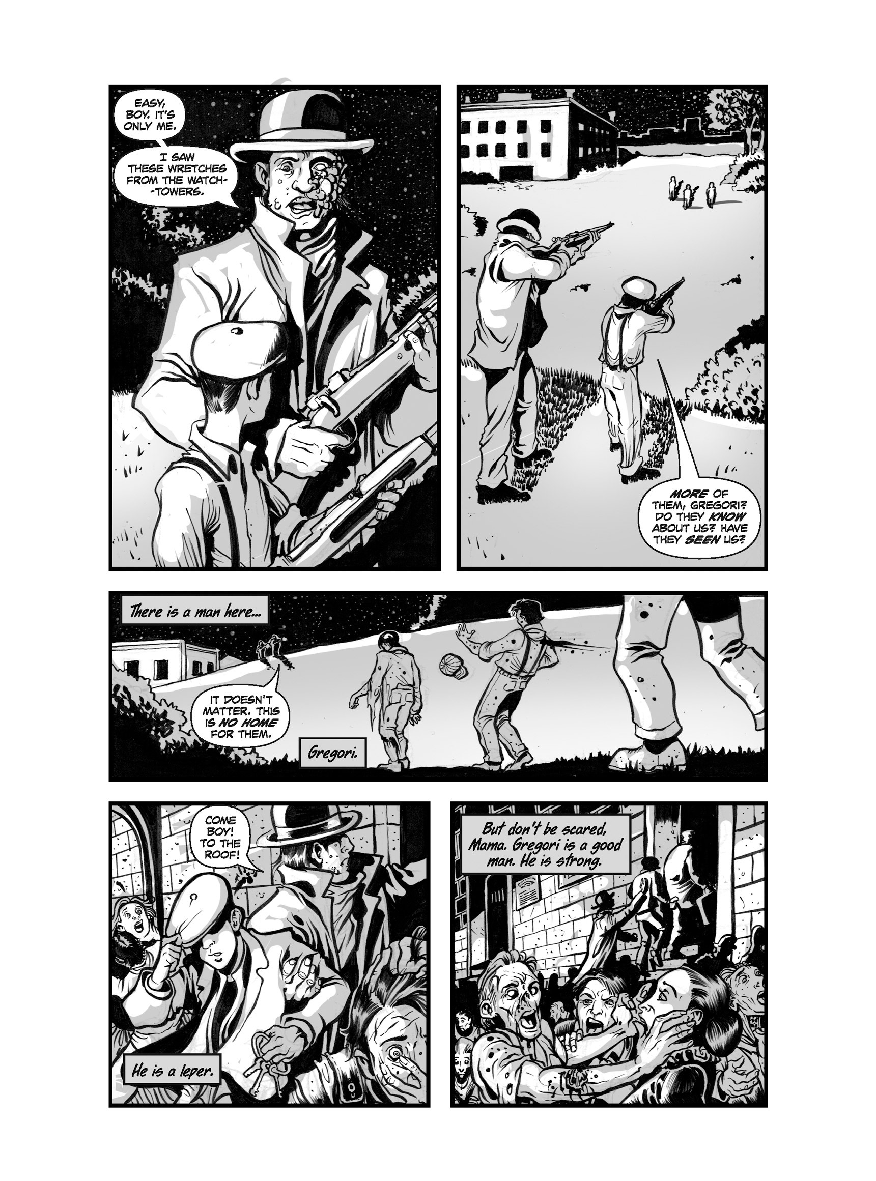 Read online FUBAR comic -  Issue #3 - 210