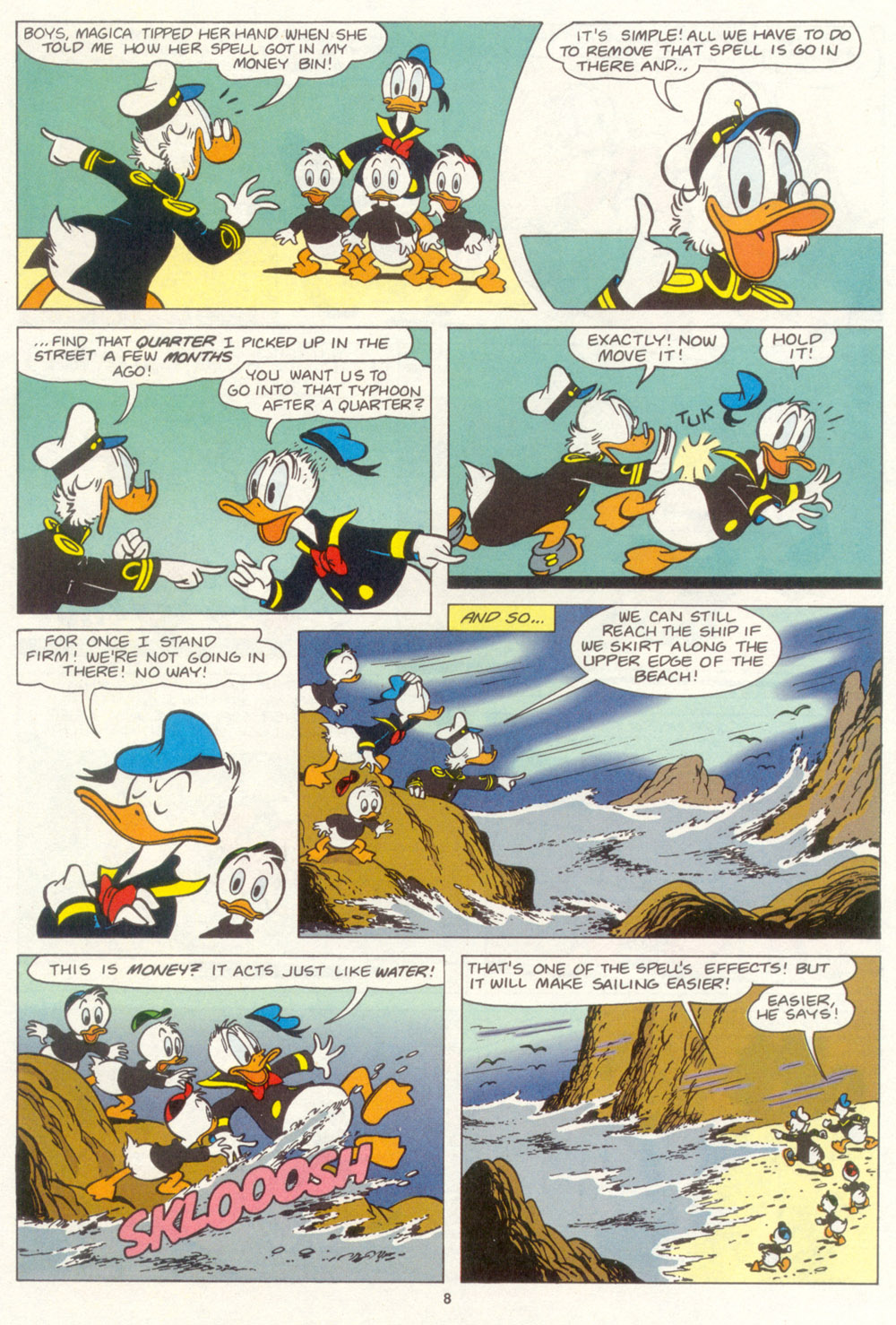 Read online Uncle Scrooge (1953) comic -  Issue #267 - 9