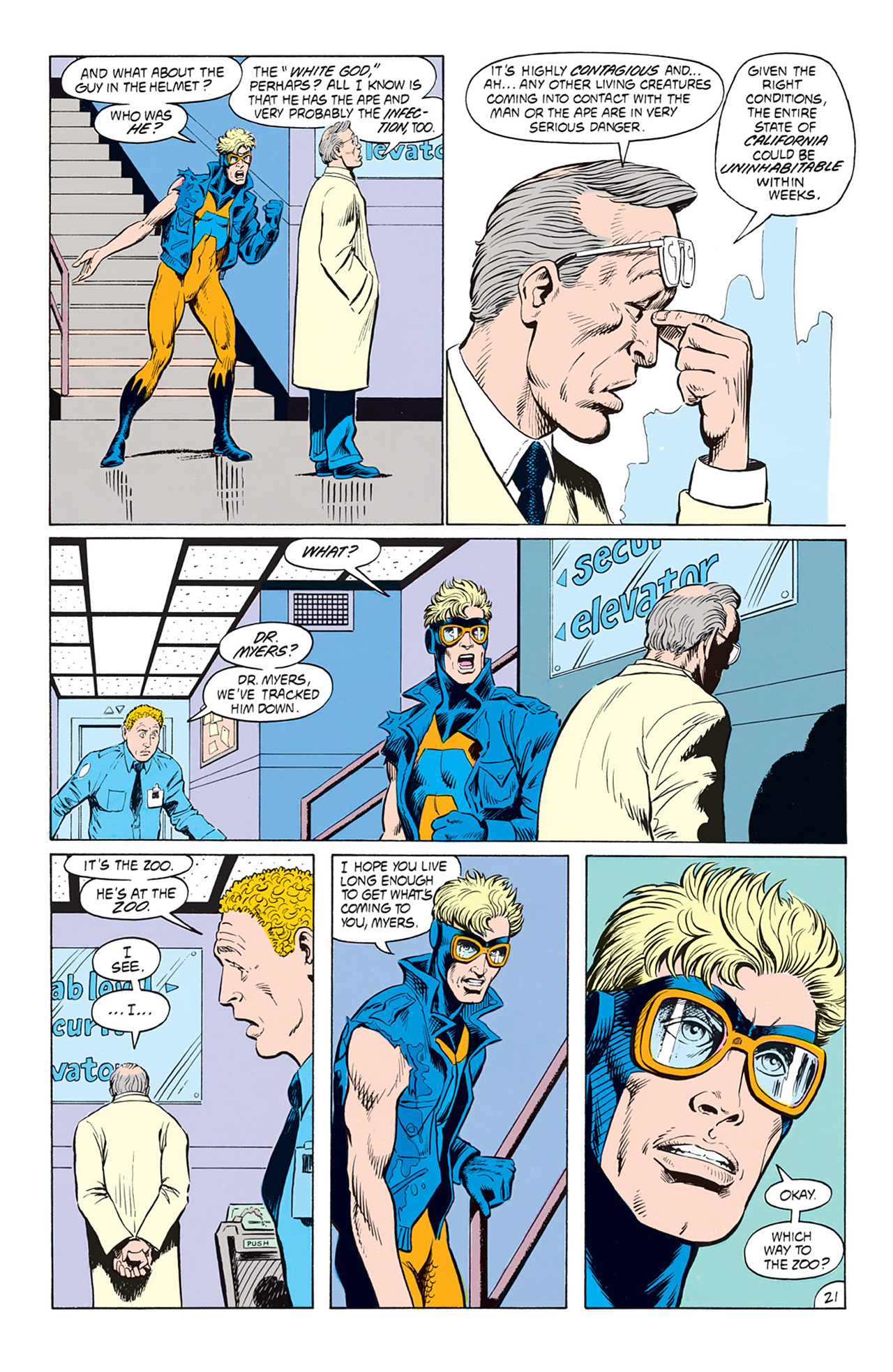 Read online Animal Man (1988) comic -  Issue #3 - 23