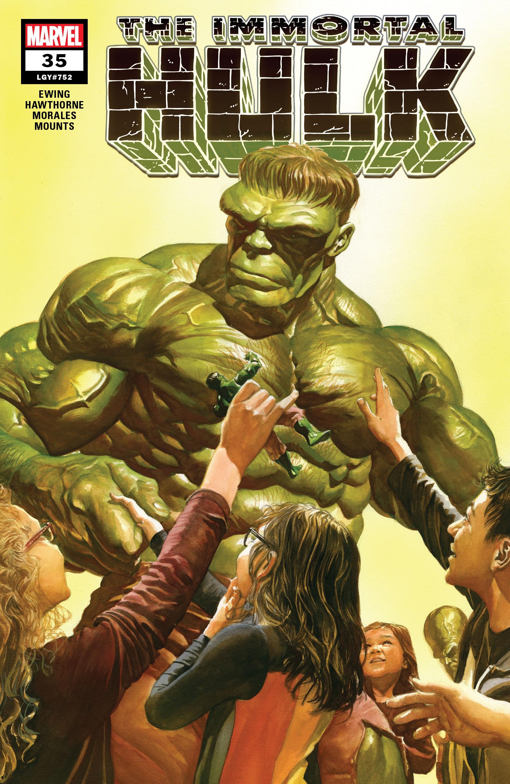 Immortal Hulk (2018) issue 35 - Page 1