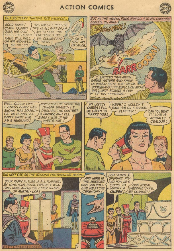 Read online Action Comics (1938) comic -  Issue #298 - 11
