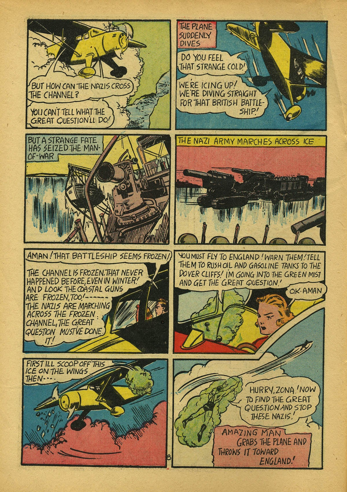 Read online Amazing Man Comics comic -  Issue #22 - 11