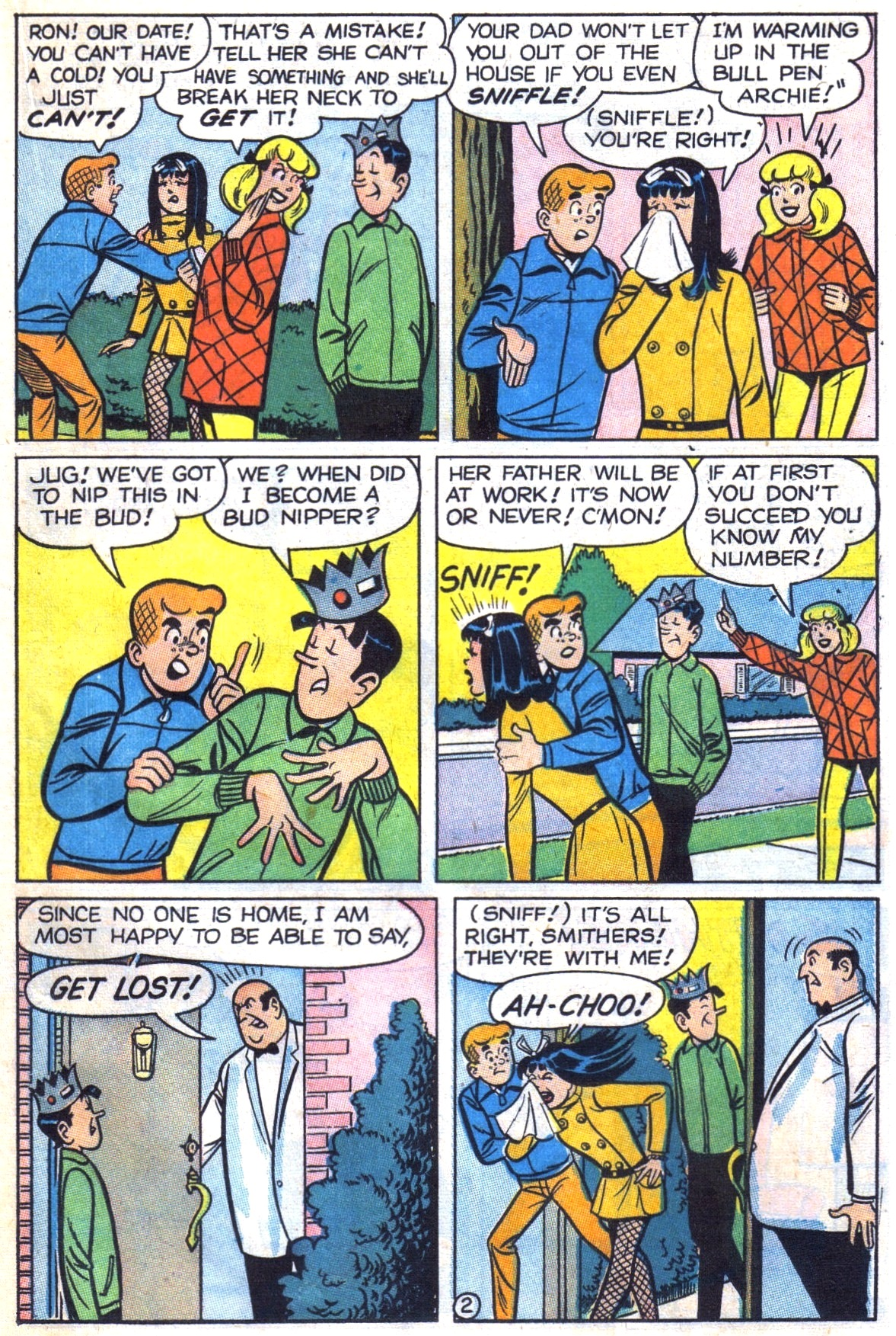 Read online Archie (1960) comic -  Issue #181 - 21