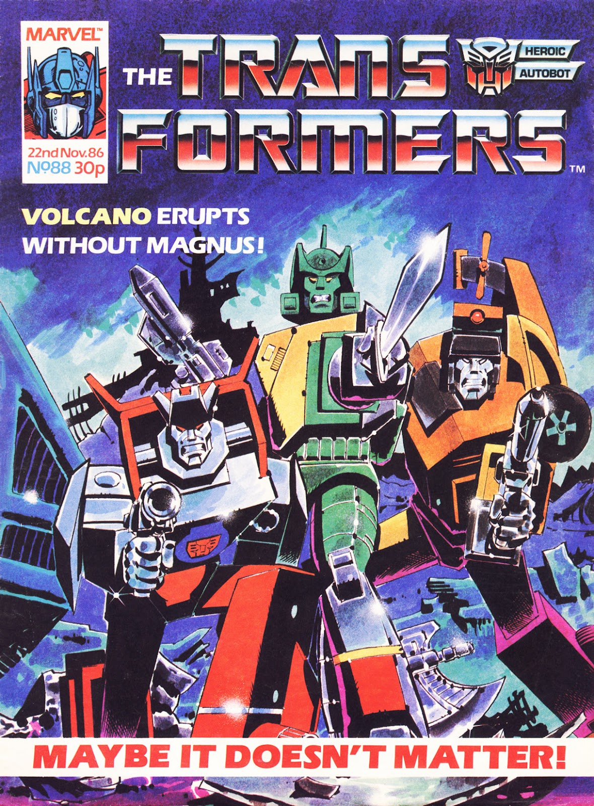 The Transformers (UK) 88 Page 1