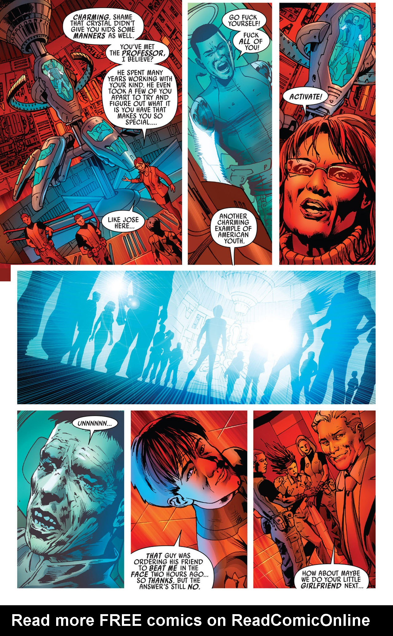 Read online America's Got Powers comic -  Issue #5 - 8