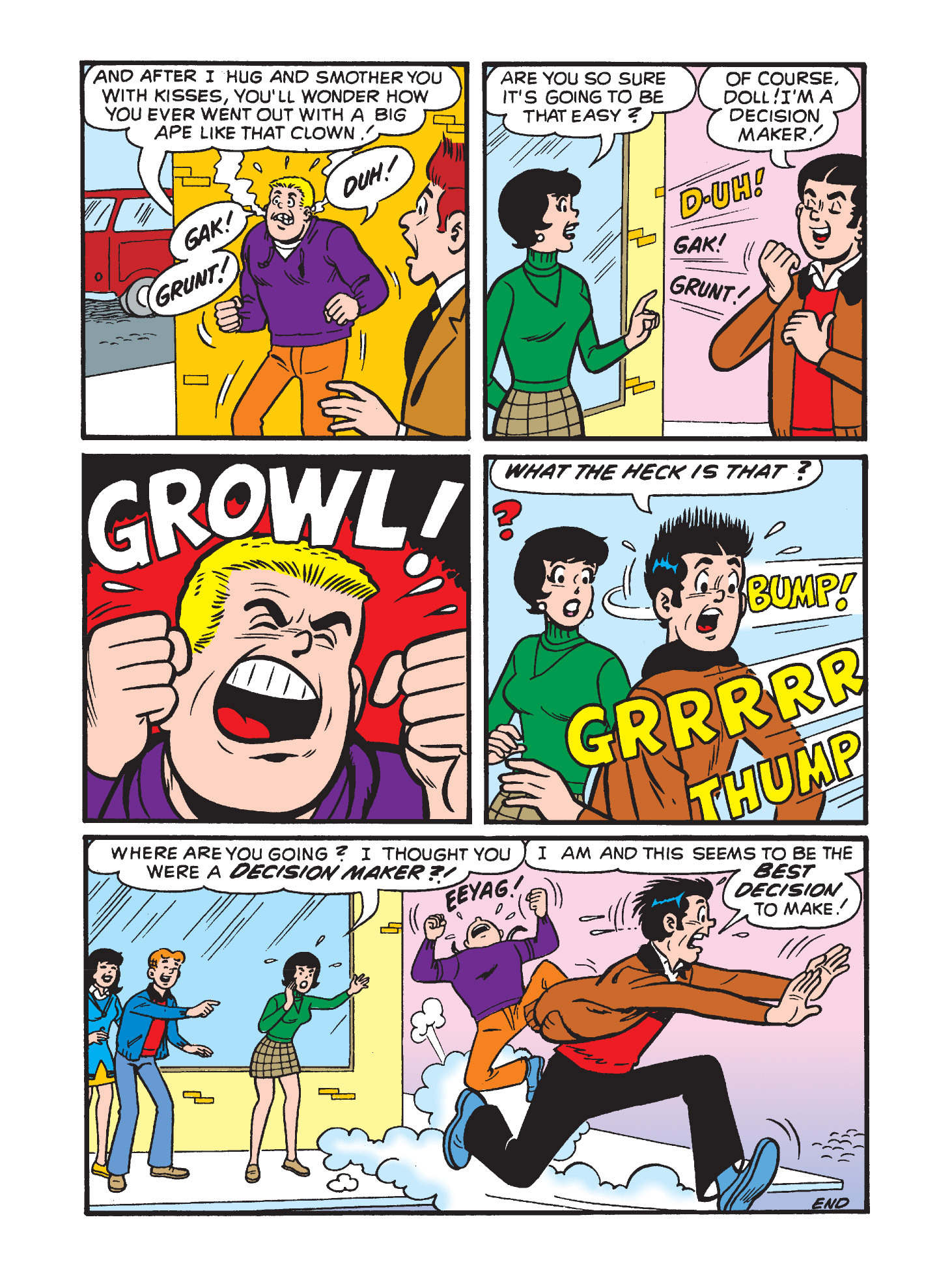 Read online Archie's Funhouse Double Digest comic -  Issue #3 - 126