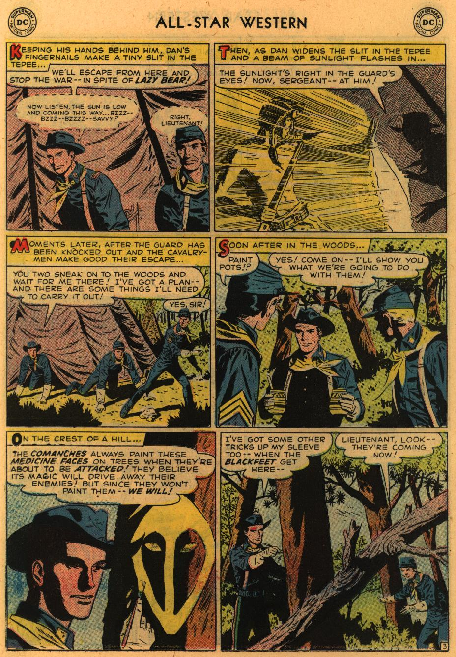 Read online All-Star Western (1951) comic -  Issue #98 - 23