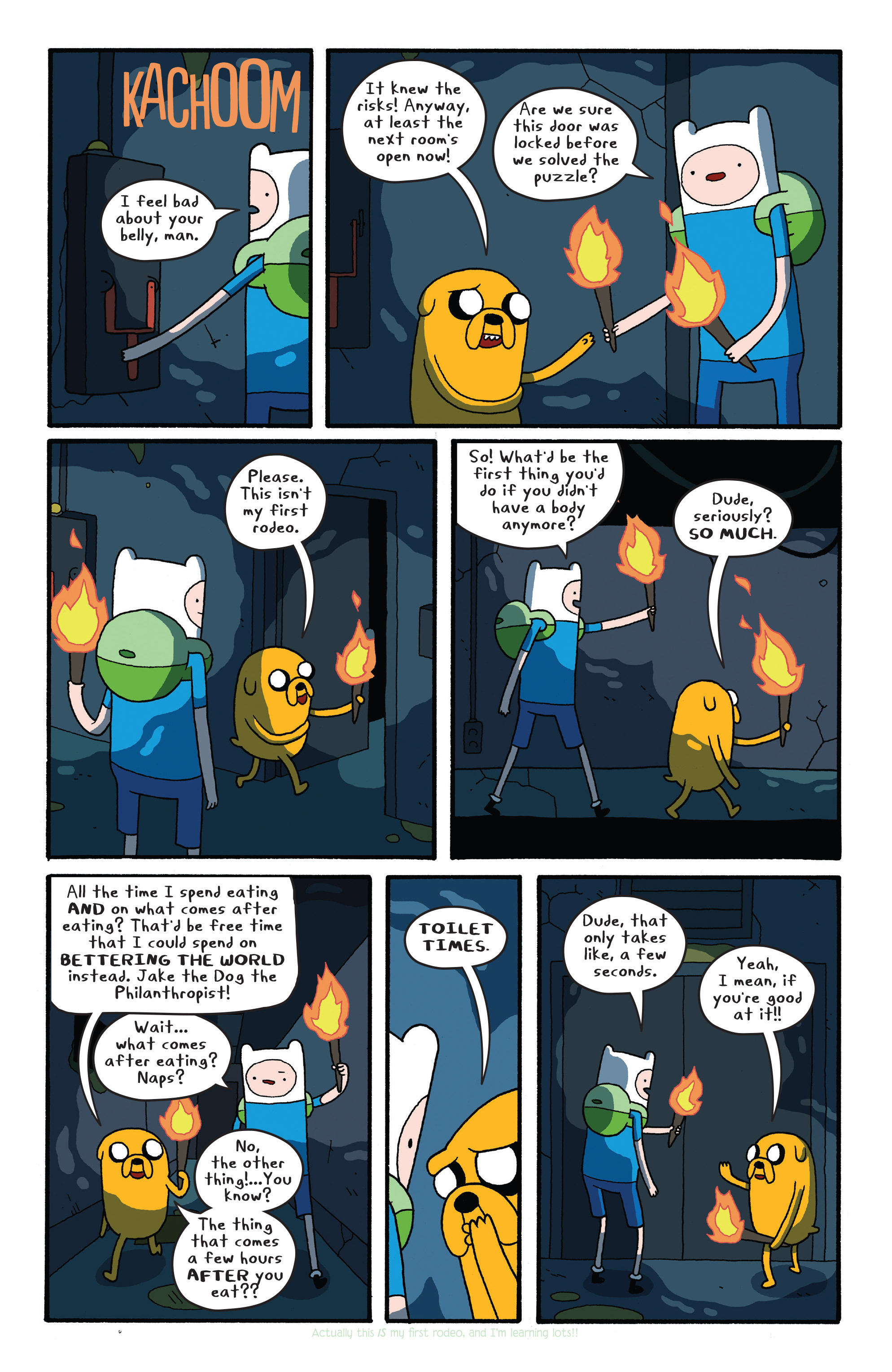 Read online Adventure Time comic -  Issue #26 - 15