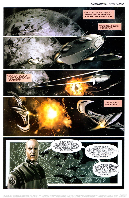 Read online Transformers Armada comic -  Issue #12 - 27