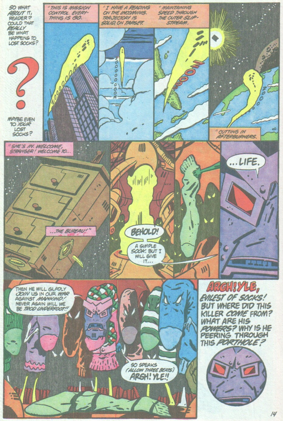 Read online Ambush Bug comic -  Issue #4 - 15