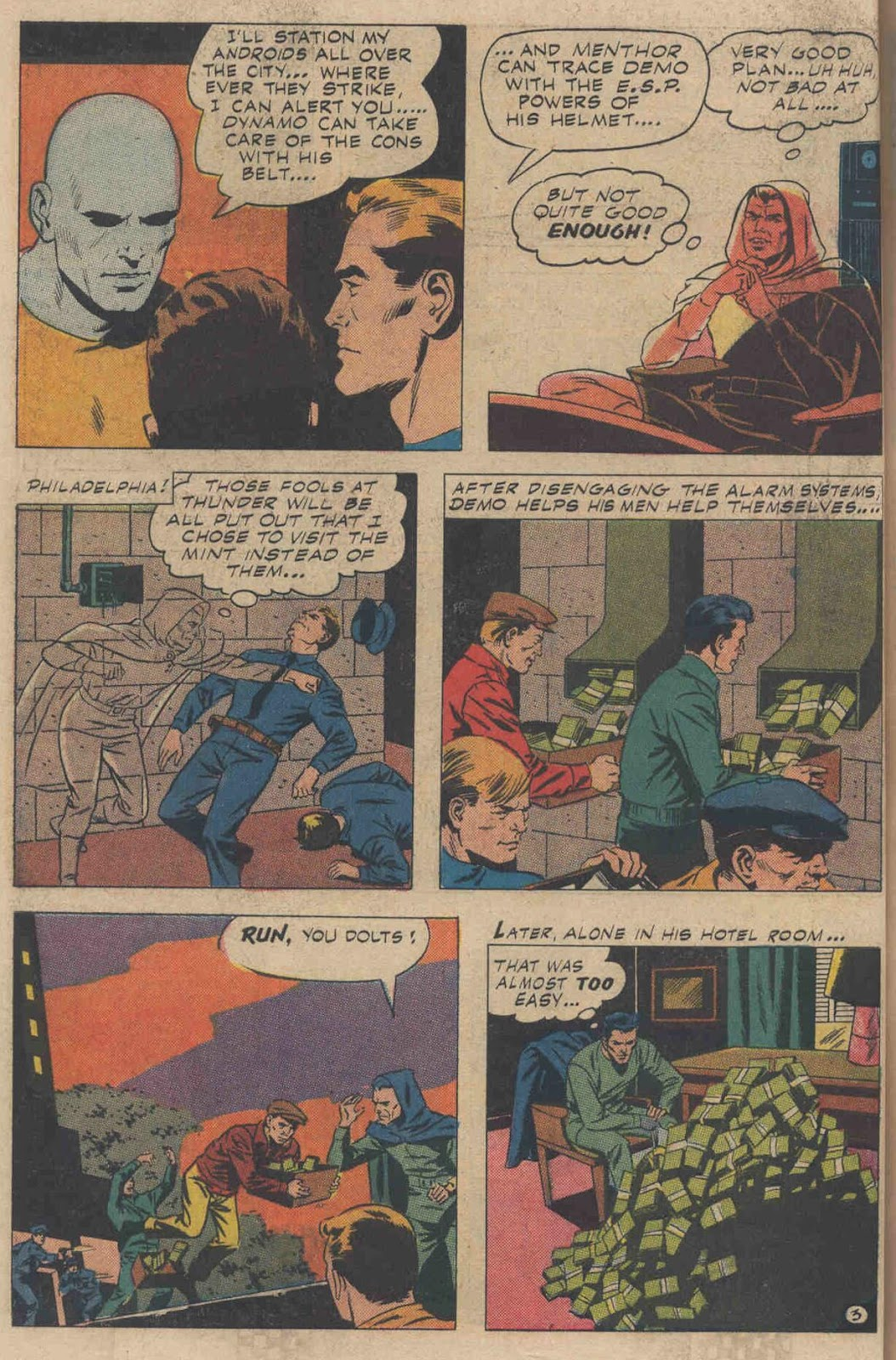 T.H.U.N.D.E.R. Agents (1965) issue 6 - Page 34