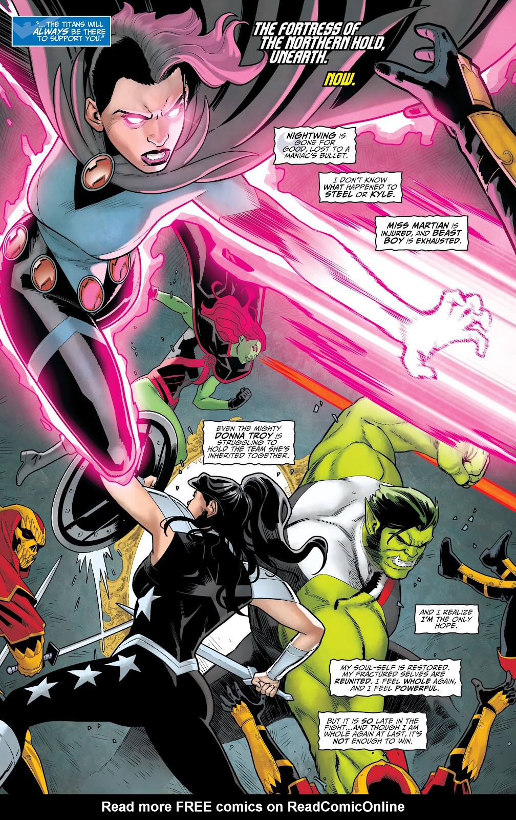 Read online Titans (2016) comic -  Issue #36 - 5