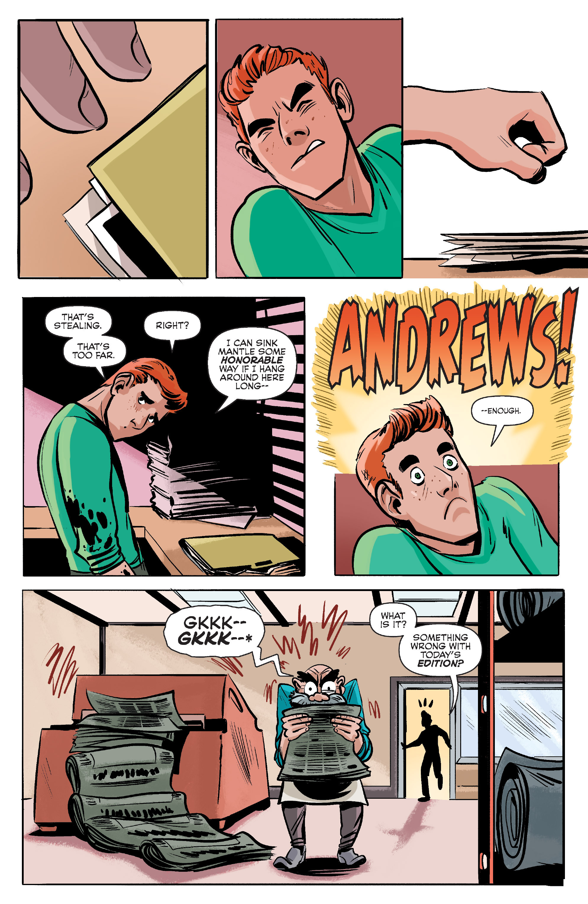 Read online Archie (2015) comic -  Issue #7 - 17