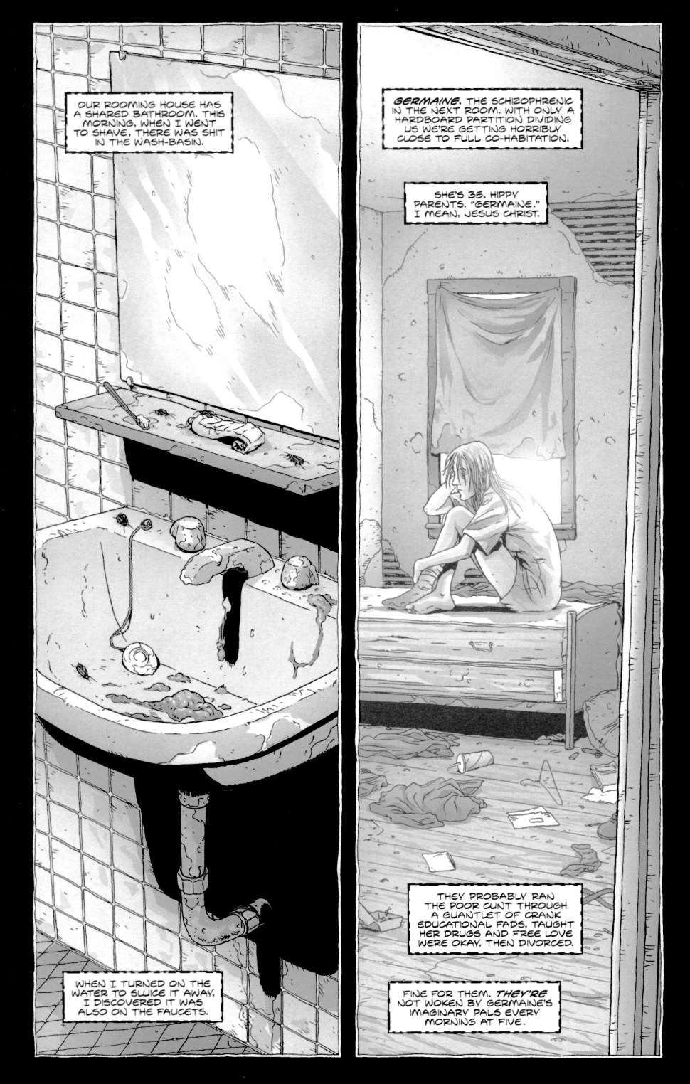 Read online Alan Moore's The Courtyard comic -  Issue #1 - 6