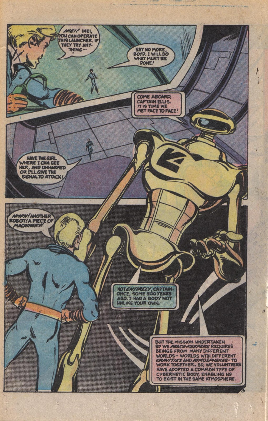 Read online Doomsday   1 (1975) comic -  Issue #9 - 19