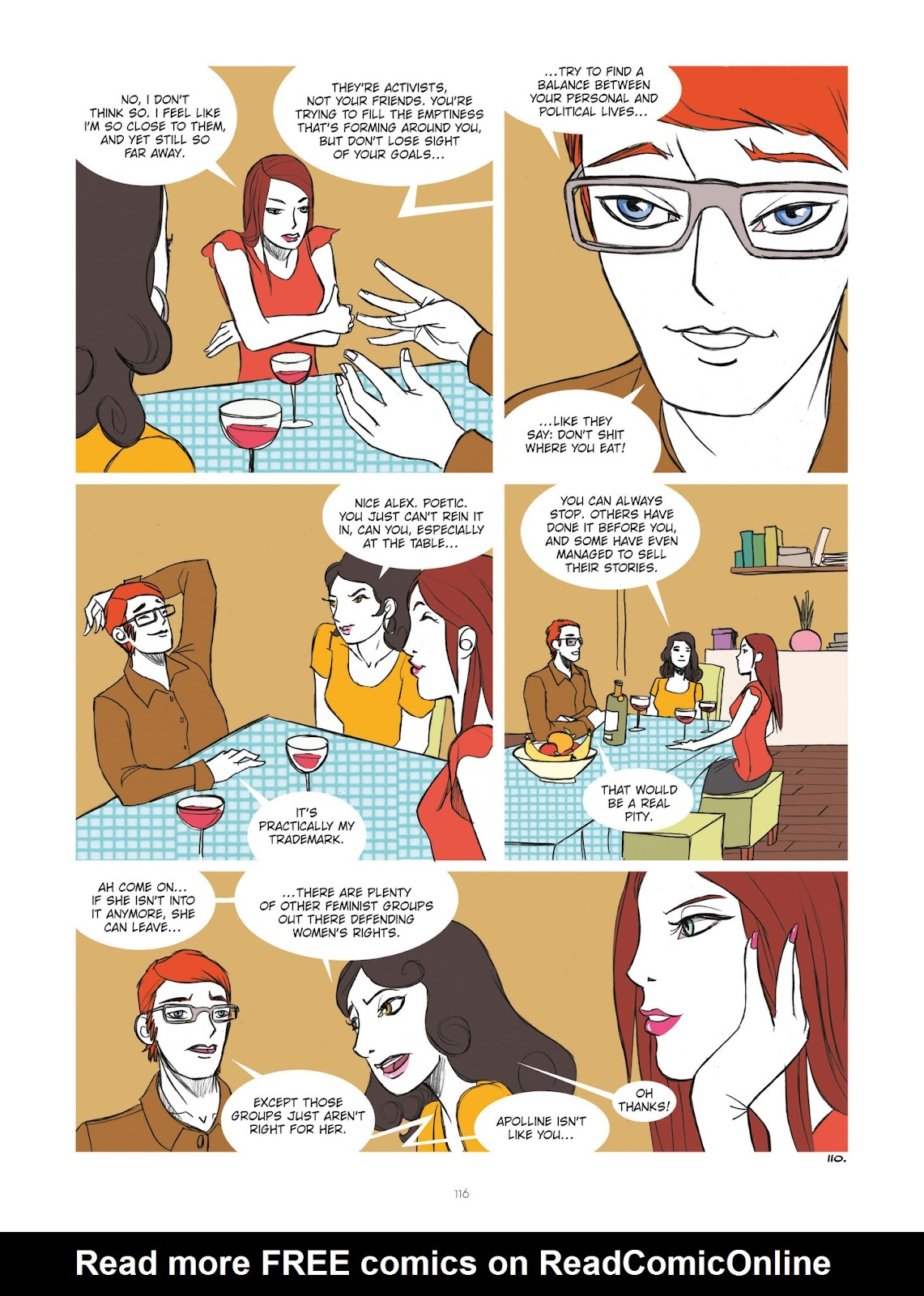 Read online Diary of A Femen comic -  Issue # TPB - 118