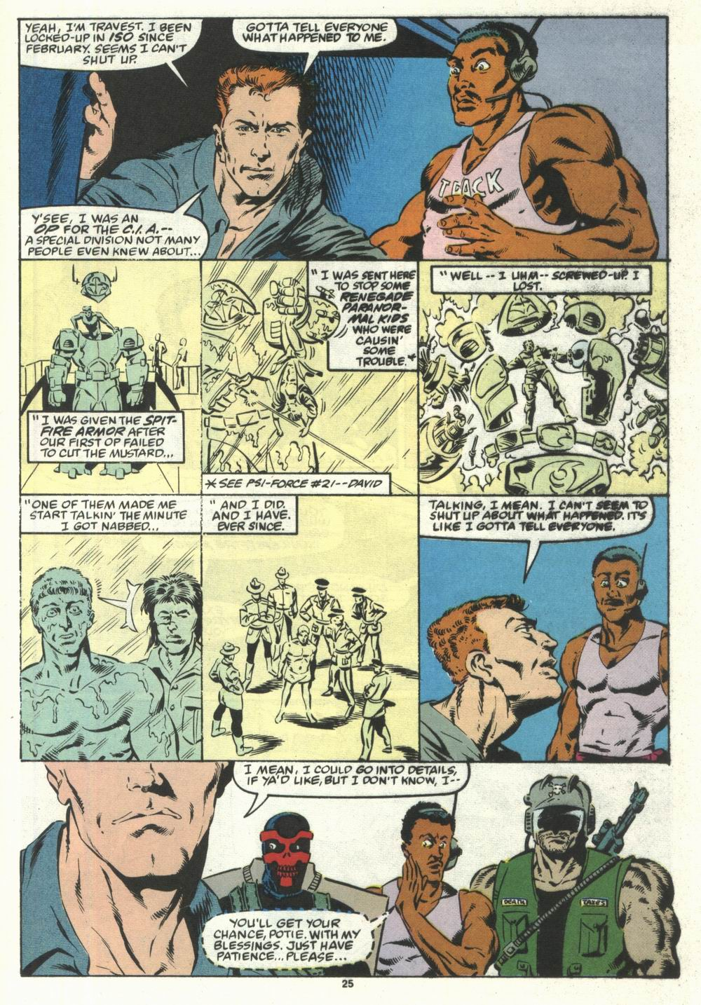 Read online Justice (1986) comic -  Issue #28 - 27