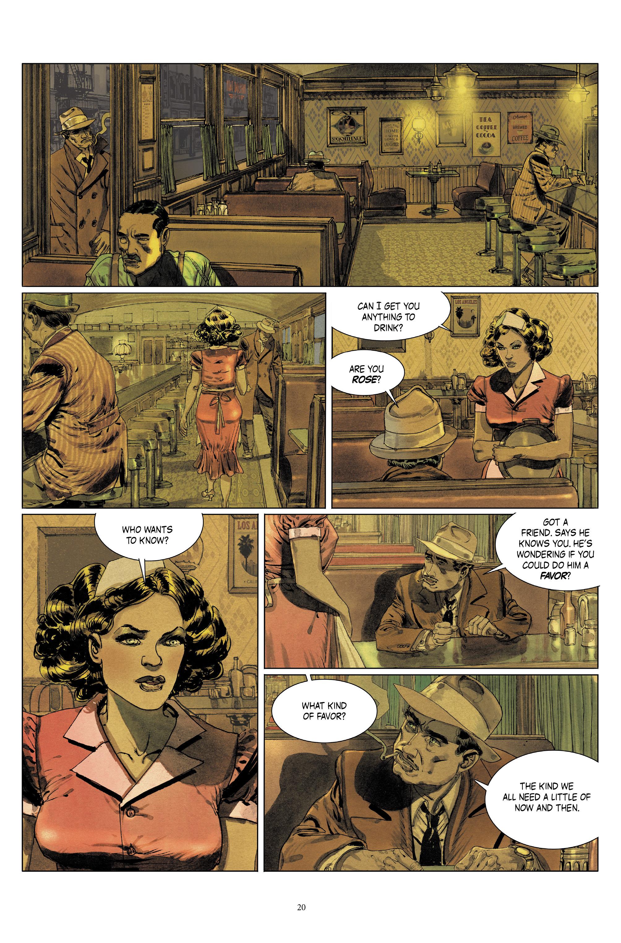 Read online Triggerman comic -  Issue #5 - 20