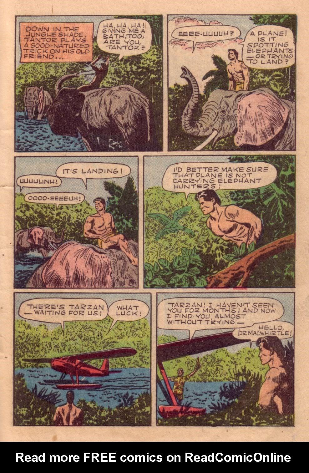 Tarzan (1948) issue 40 - Page 5