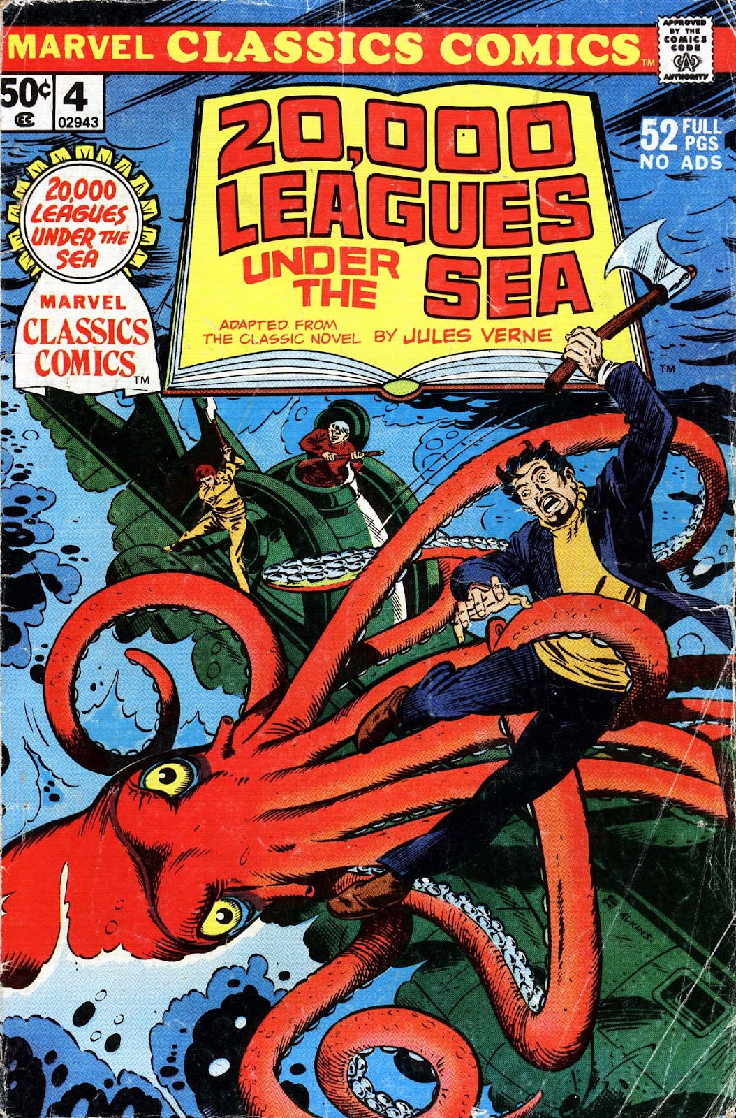 Marvel Classics Comics Series Featuring issue 4 - Page 1