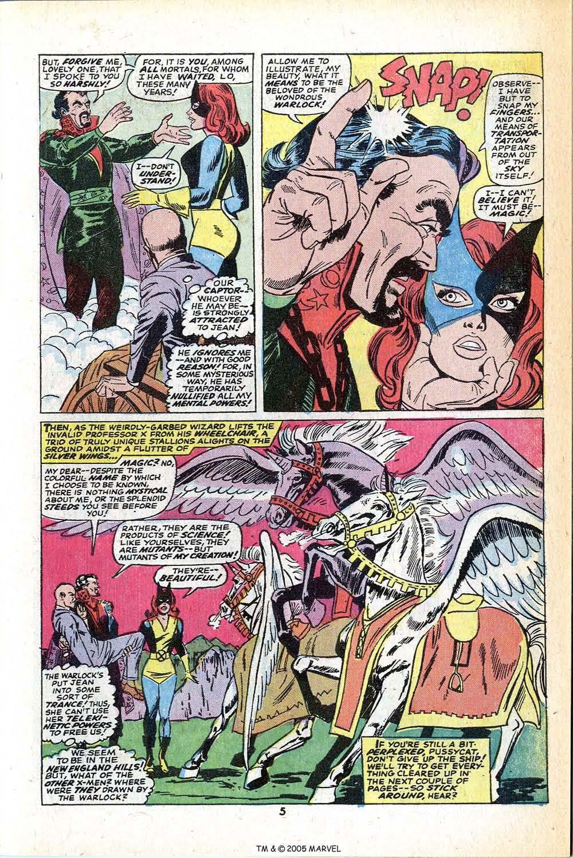 Read online Uncanny X-Men (1963) comic -  Issue #78 - 7