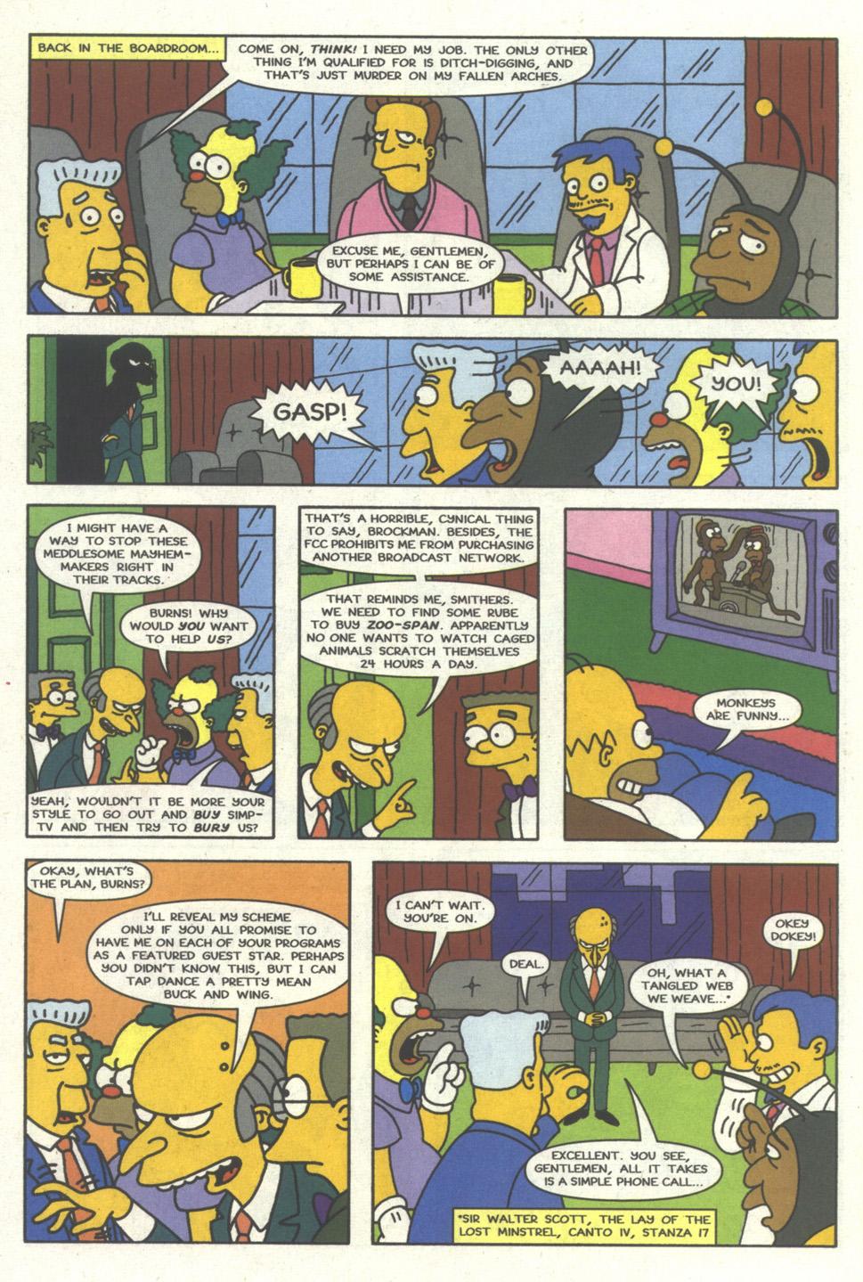 Read online Simpsons Comics comic -  Issue #17 - 15