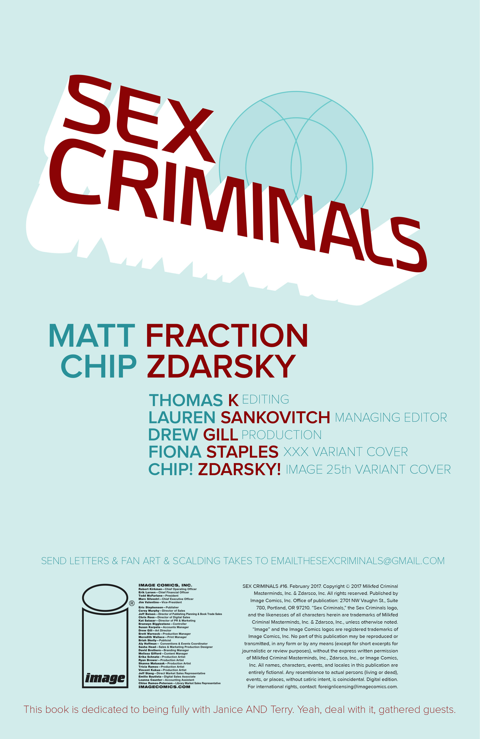 Read online Sex Criminals comic -  Issue #16 - 2