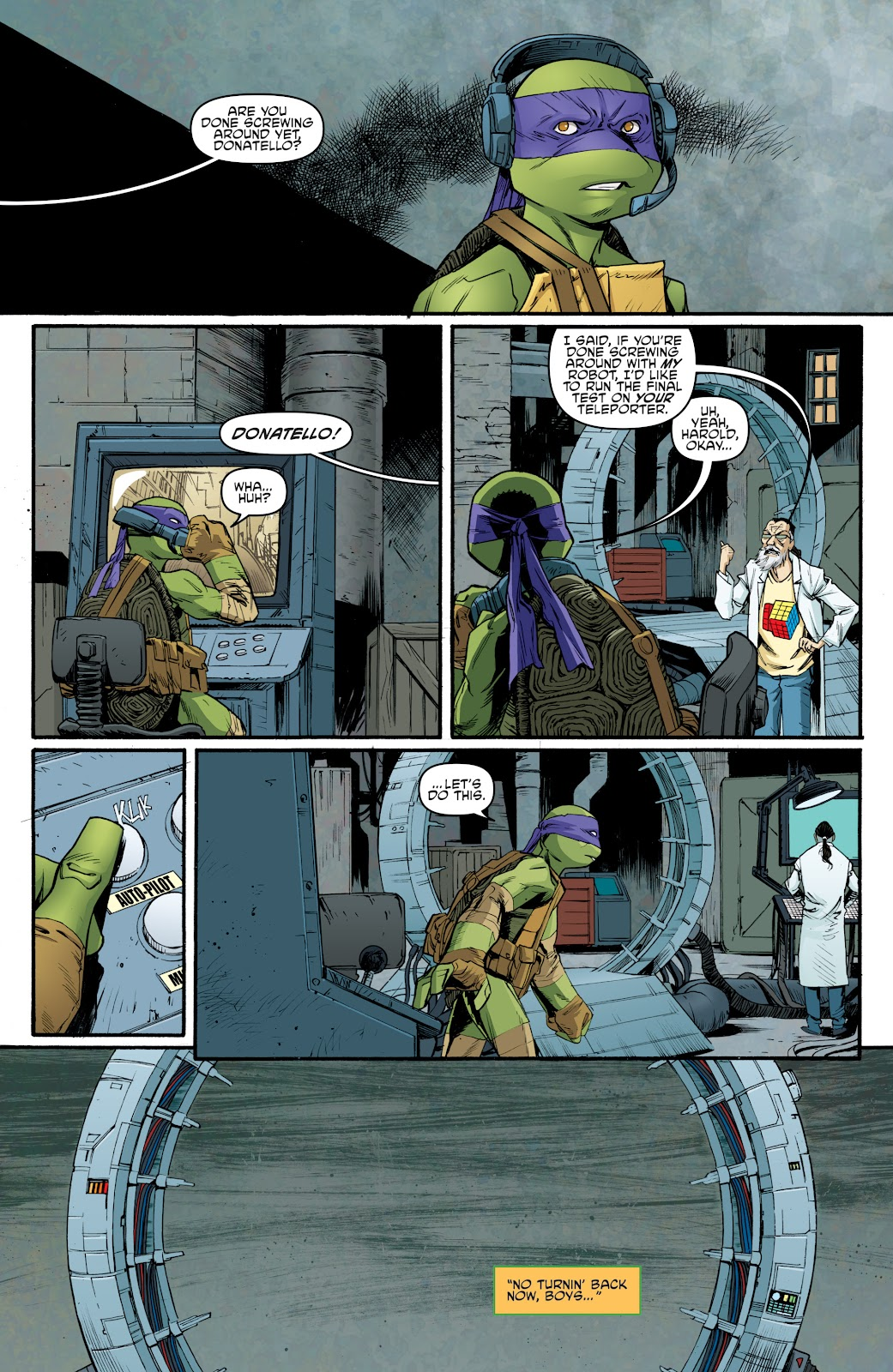 Read online Teenage Mutant Ninja Turtles: The IDW Collection comic -  Issue # TPB 5 (Part 3) - 70