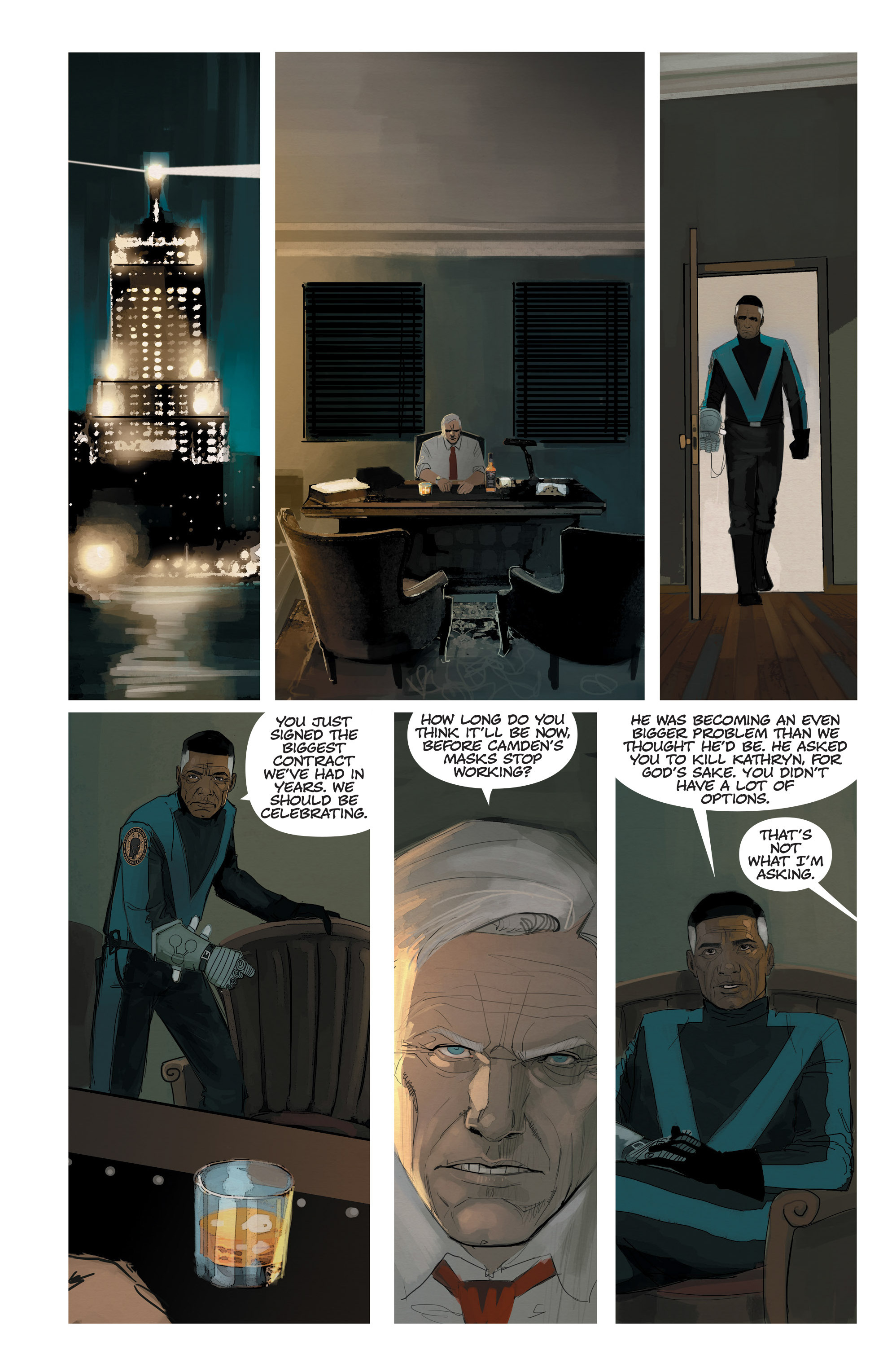 Read online C.O.W.L. comic -  Issue #11 - 22