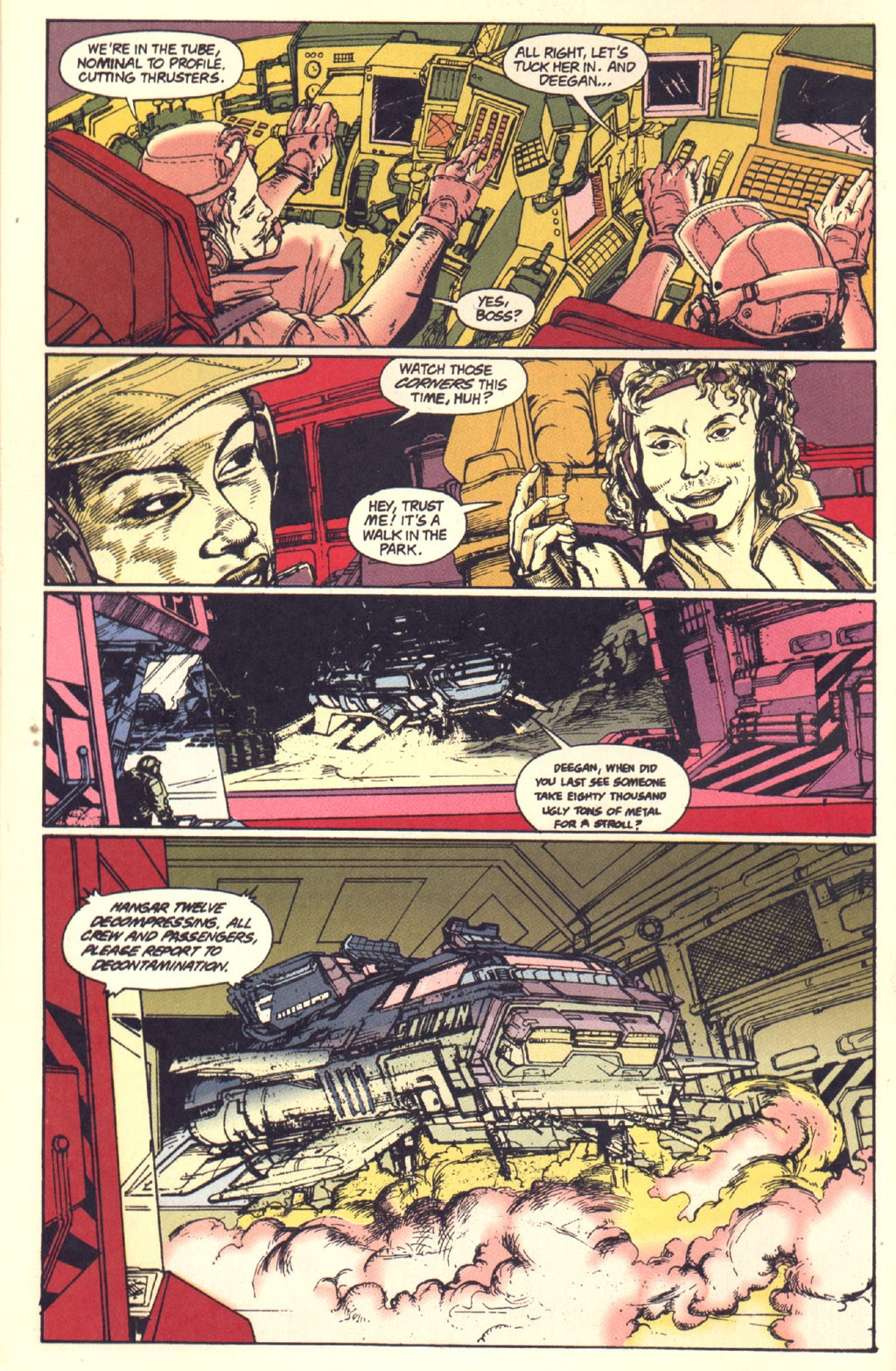 Read online Aliens: Rogue comic -  Issue #1 - 12
