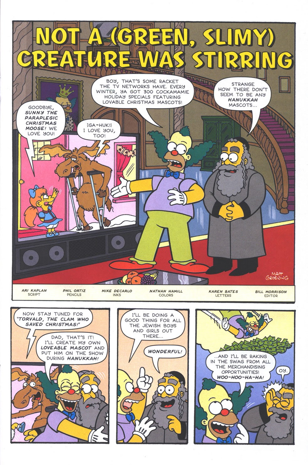 Read online The Simpsons Winter Wingding comic -  Issue #3 - 31