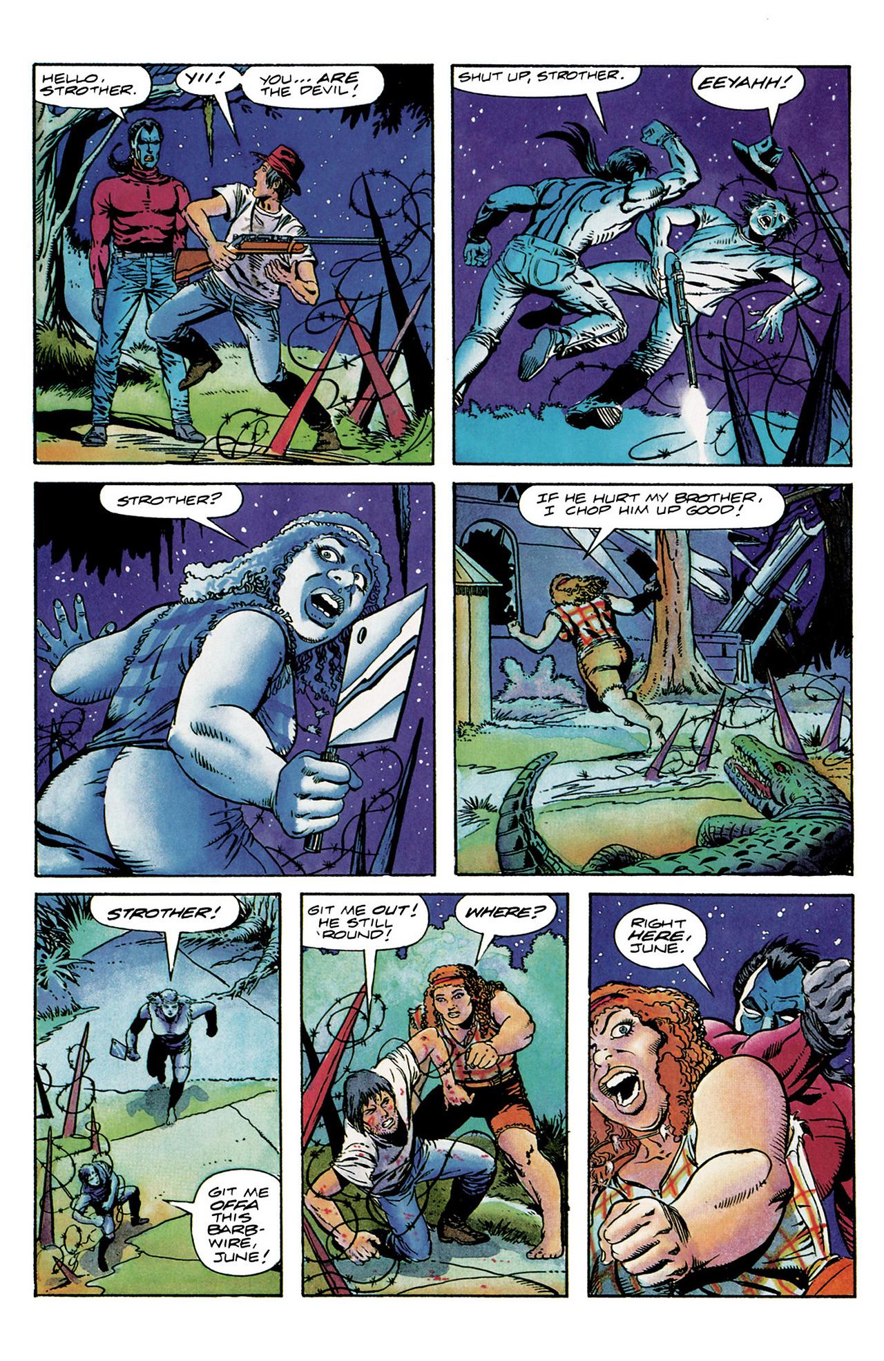 Read online Shadowman (1992) comic -  Issue #6 - 19